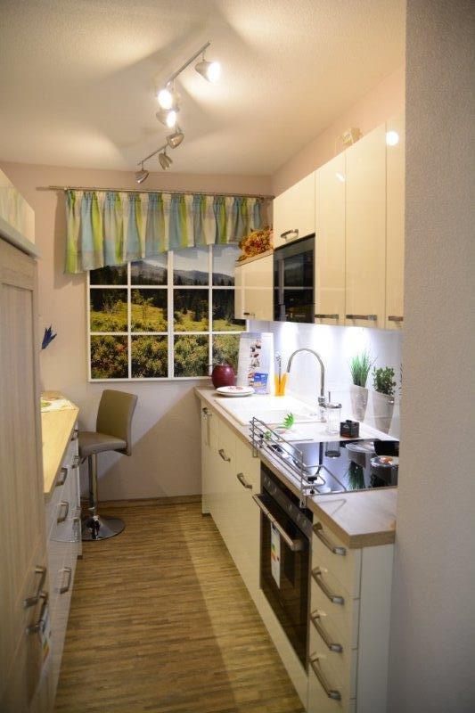 Die beste Lösung für kleinere Wohnungen - geschlossene Küche