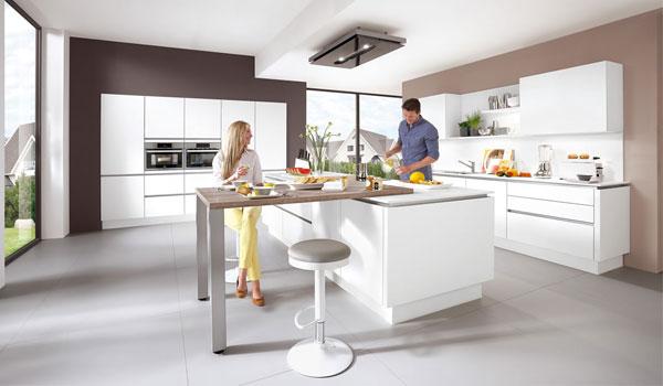 Langanhaltender Trend bei Küchendtudio Janthur - Grifflose Küchen
