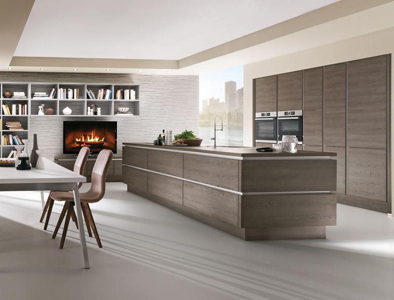 Offene Küchen lassen Räume großzügig wirken.