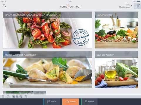 Intelligente Küche - Home Connect
