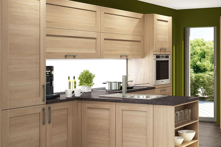 k chenstudio janthur stylische nischenr ckw nde in individueller optik. Black Bedroom Furniture Sets. Home Design Ideas