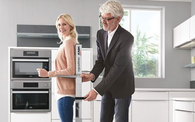 Top Küchenplanung – ergonomisch gedacht